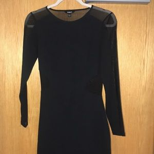 Black body cone dress
